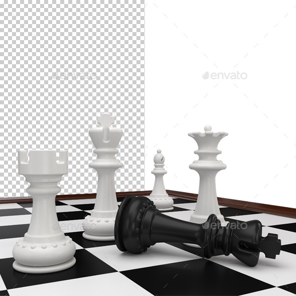 Checkmate - Objects 3D Renders