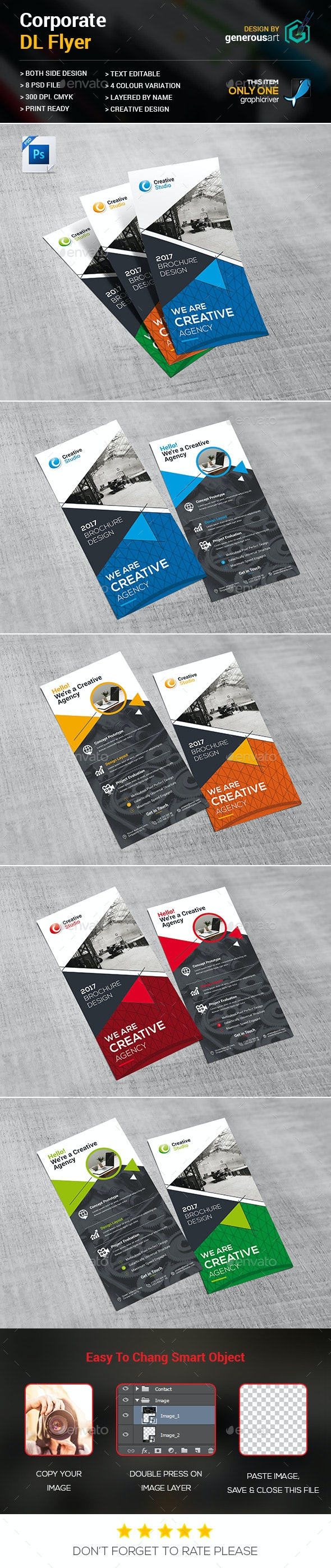DL Flyer - Corporate Flyers