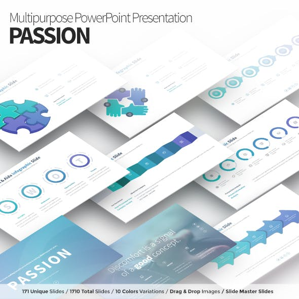 PASSION - Multipurpose PowerPoint Presentation Template