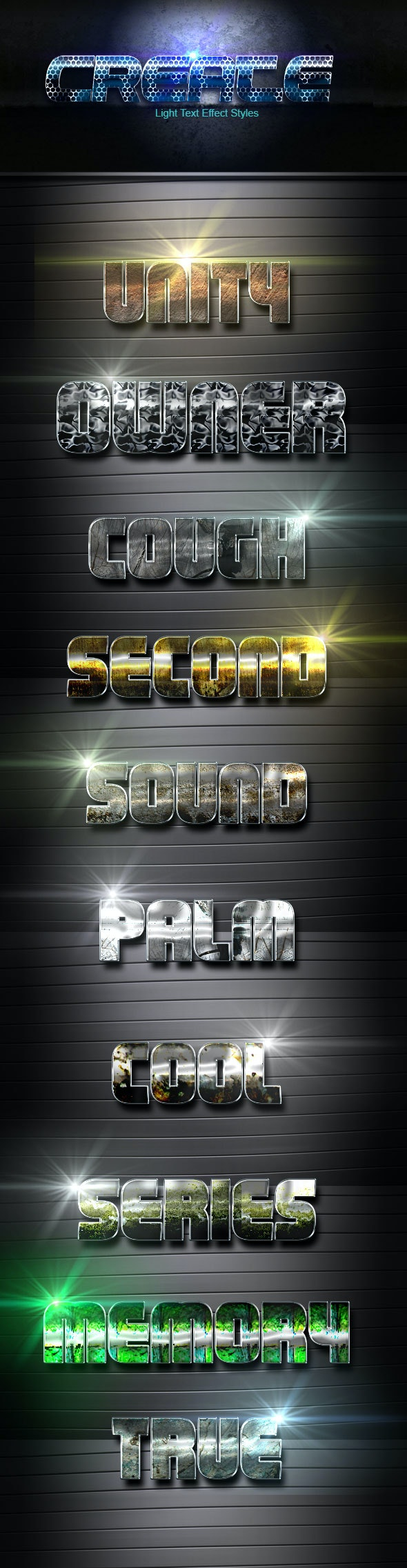 Create vol 4 - Text Effects Actions
