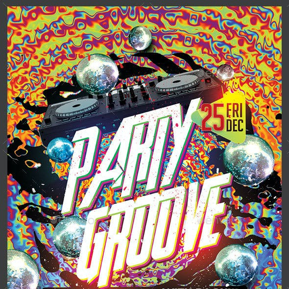 Party Groove Flyer