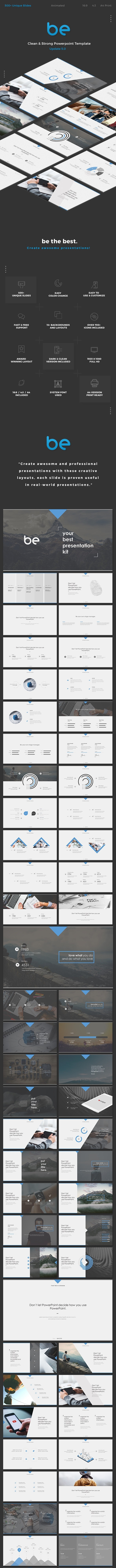 be Powerpoint - PowerPoint Templates Presentation Templates