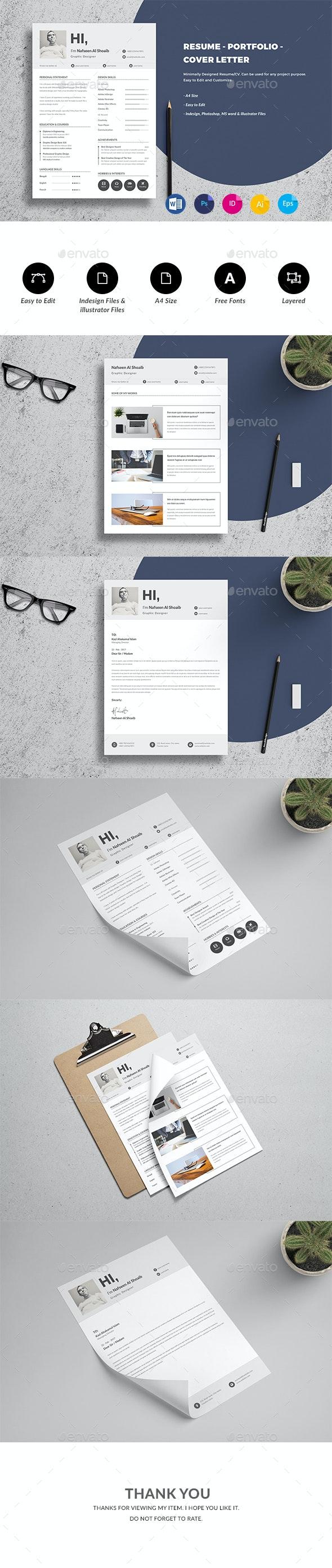 Resume/CV Template - Resumes Stationery