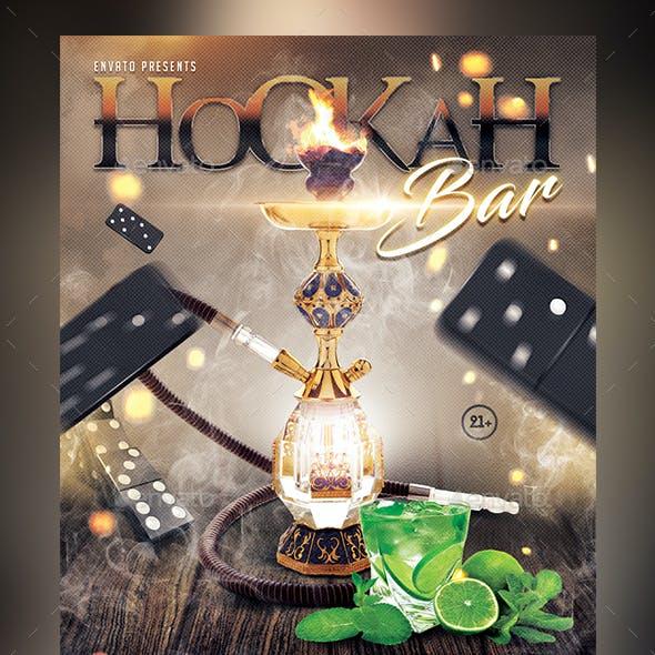Hookah Bar Flyer Template