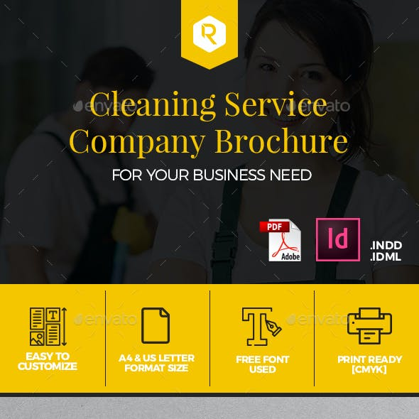 Cleaning Service Company Brochure