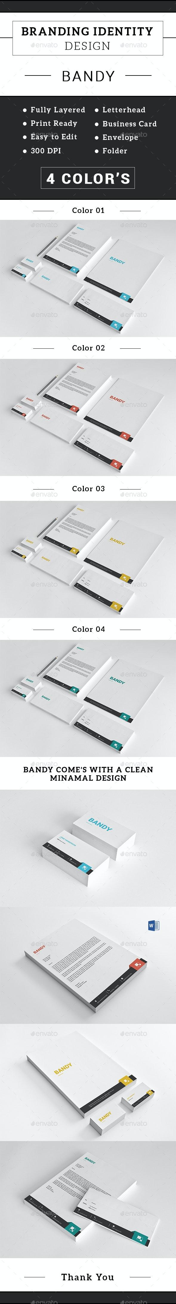 Corporate Stationery Set-v01 - Stationery Print Templates