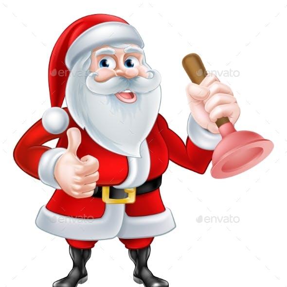 Santa Plumber