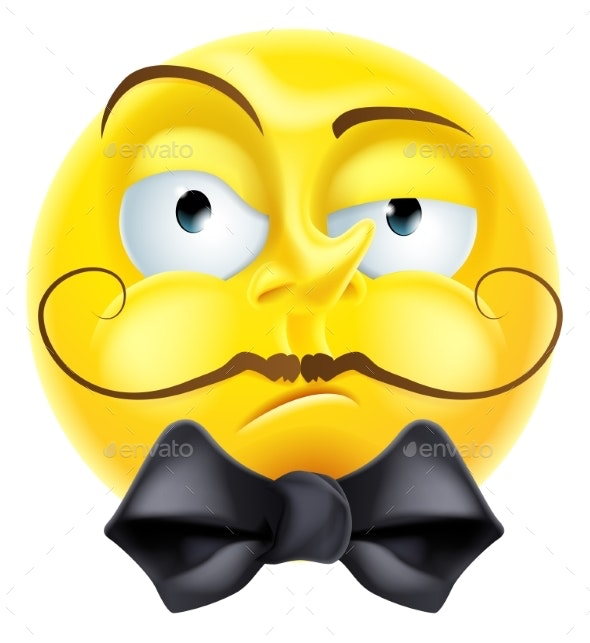 Snooty Emoji Emoticon - Miscellaneous Characters