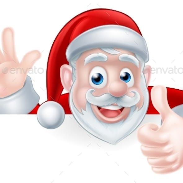Santa Thumbs Up