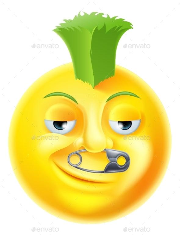 Punk Emoji Emoticon - Miscellaneous Characters