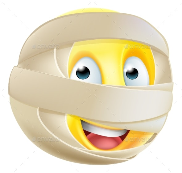 Mummy Emoji Emoticon - Miscellaneous Characters