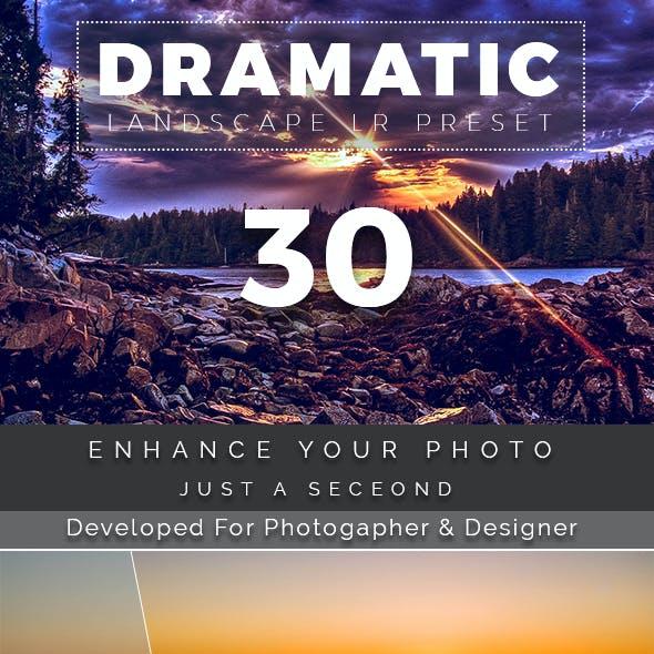 30 Dramatic Landscape Preset