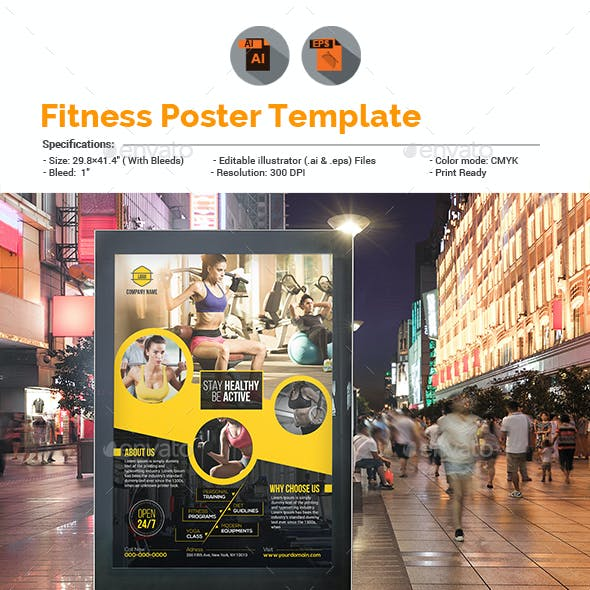Fitness | Gym Poster