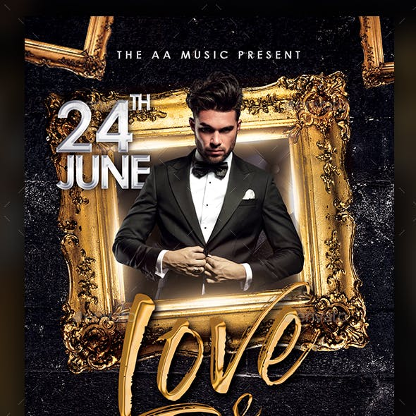 Love & Music Flyer