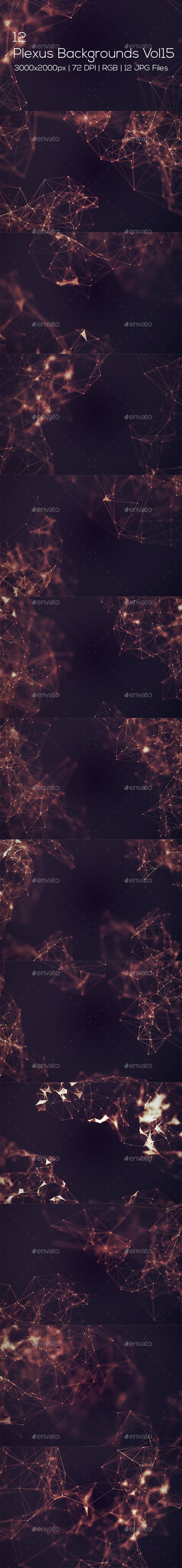Plexus Backgrounds Vol15 - Abstract Backgrounds