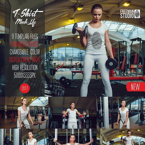 Sport T-Shirt Mock-Up Vol.1 2017