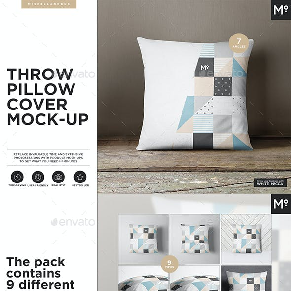 The Pillow Cover Mock-up
