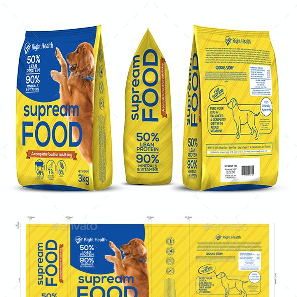 Dog Supplement Packaging Template-2