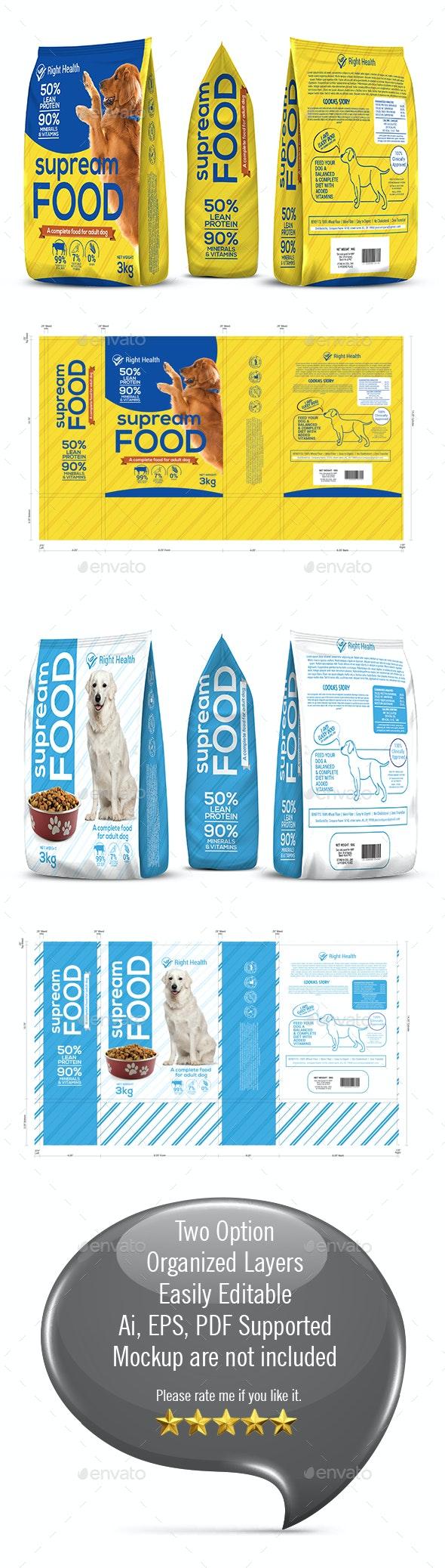 Dog Supplement Packaging Template-2