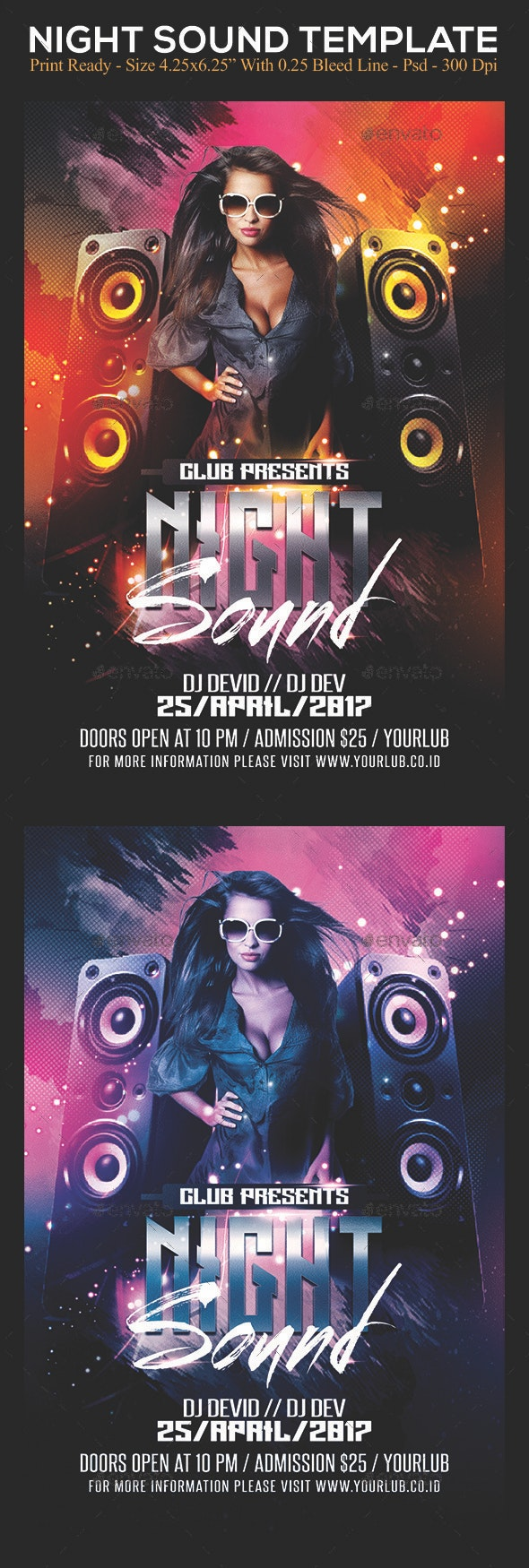 Night Sound - Clubs & Parties Events