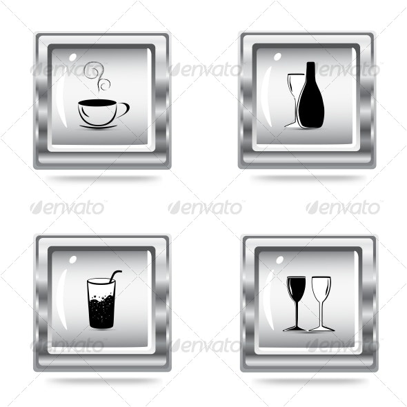 icons set - Objects Vectors