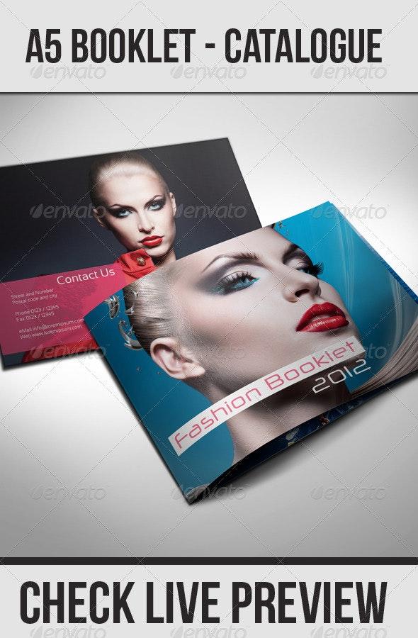 A5 Booklet - Catalogue - Catalogs Brochures