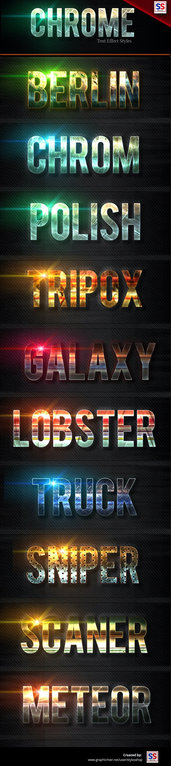 Bold Light Text Effect vol 2 - Text Effects Styles