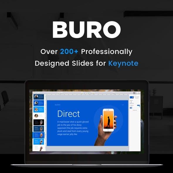 Buro- Keynote Presentation Template