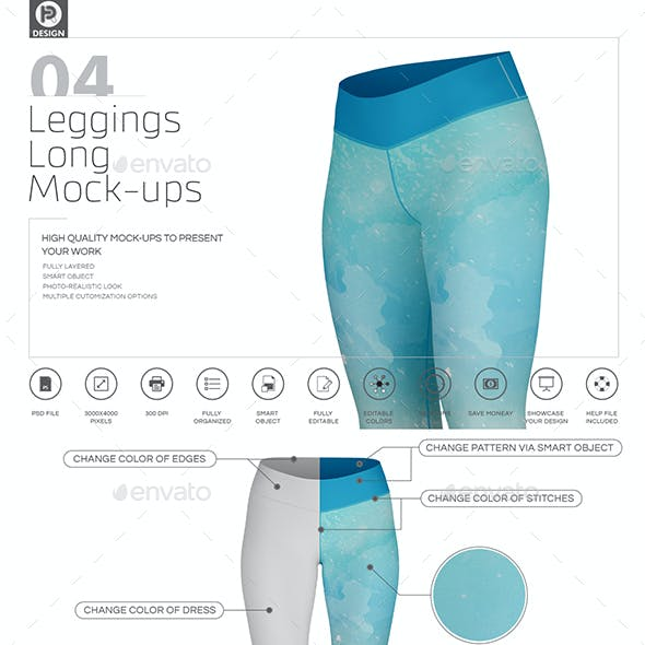 Leggings Long Mockups