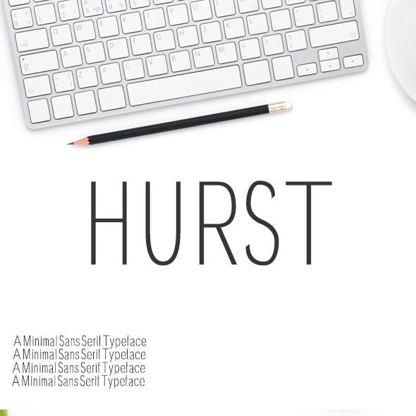 Hurst Sans Serif Typeface