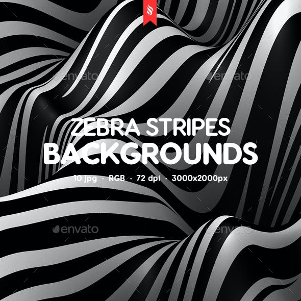 Zebra Stripes Texture Backgrounds