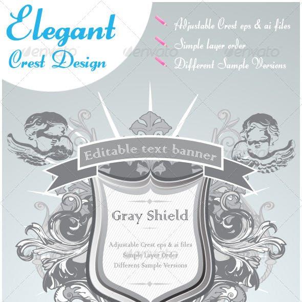 Ornate Shield Design