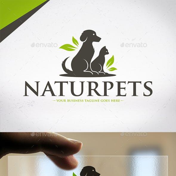 Nature Pets Logo Design