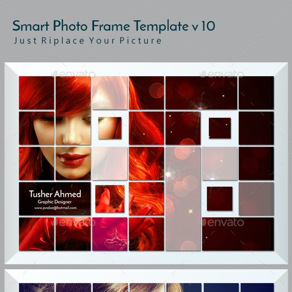 Smart Photo Frame Template v10