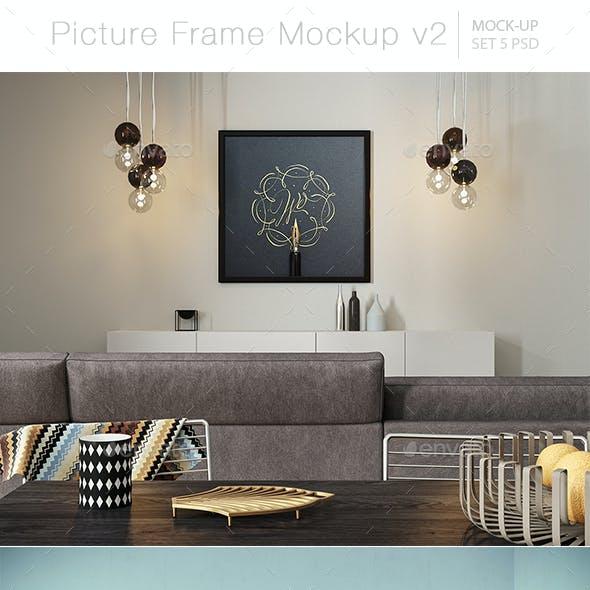 Picture Frame Mockup v2