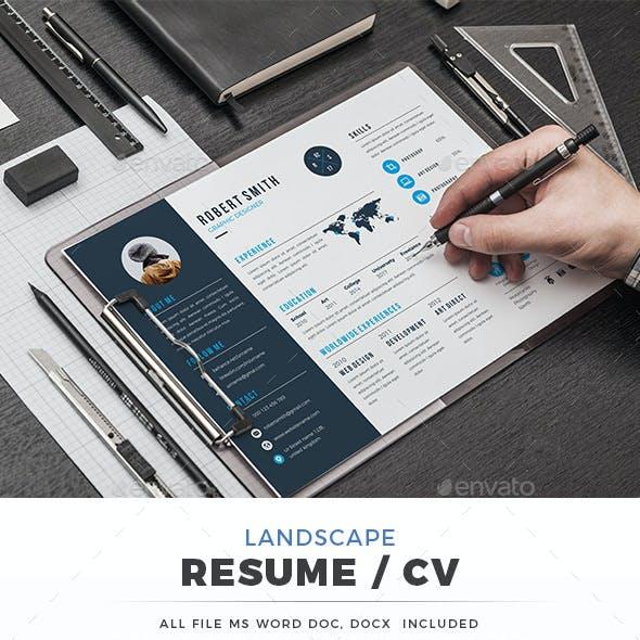 Landscape Resume