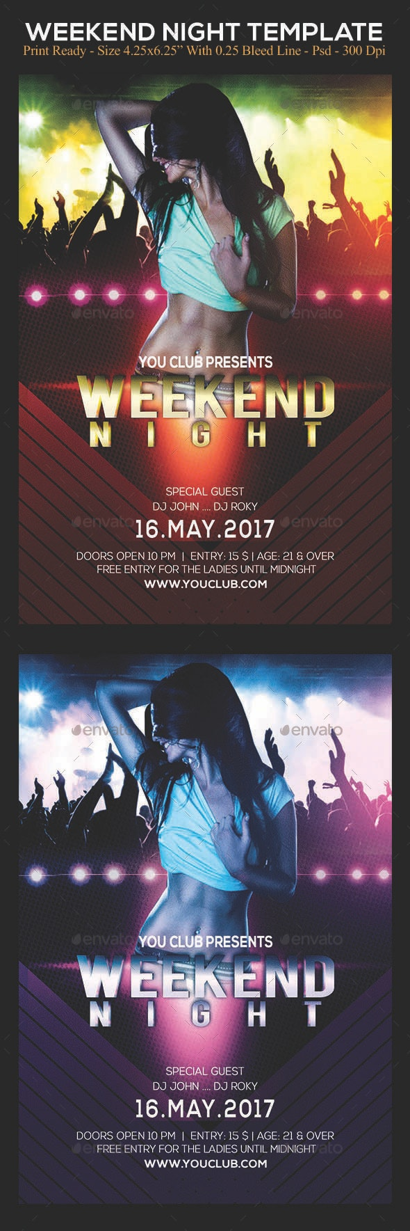 Weekend Night - Clubs & Parties Events