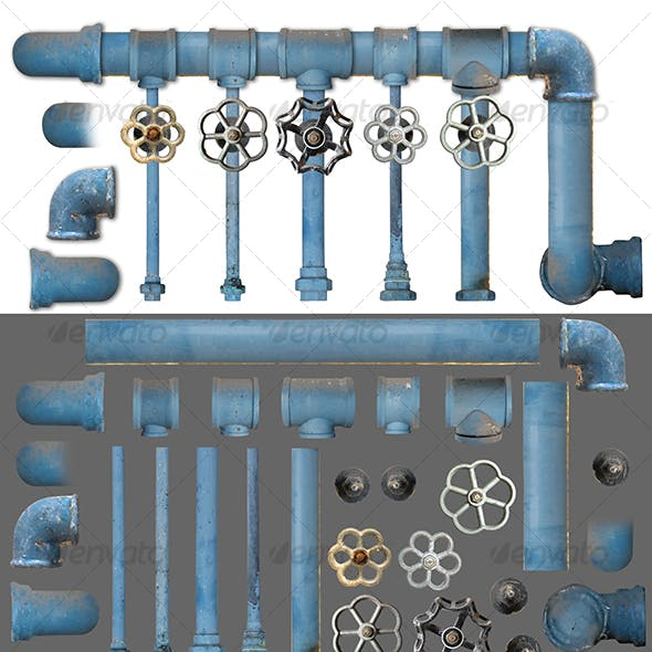 Pipes and Valves kit 1