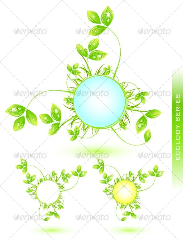 Natural symbol - Flowers & Plants Nature