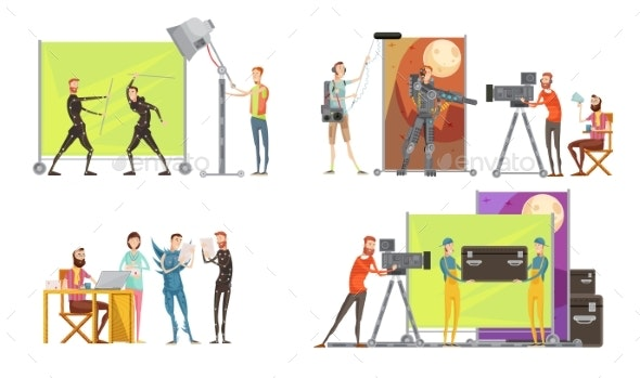 Movie Making Concept - Business Conceptual