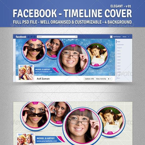 Facebook Timeline Cover [Elegant - v01]