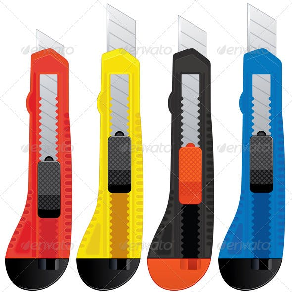 Colored Knifes