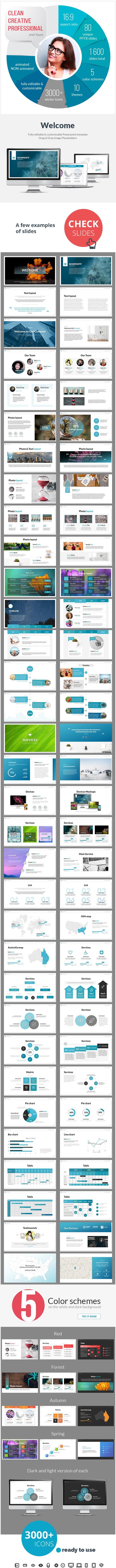 Multipurpose Nonprofit PowerPoint Presentation Template - PowerPoint Templates Presentation Templates