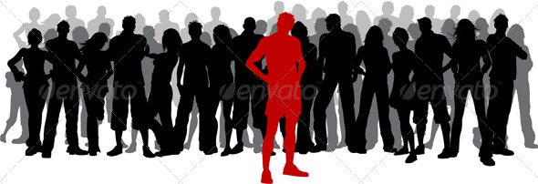 Stand out from the crowd - People Characters