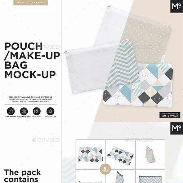 Make-Up Bag / Pouch Mock-up