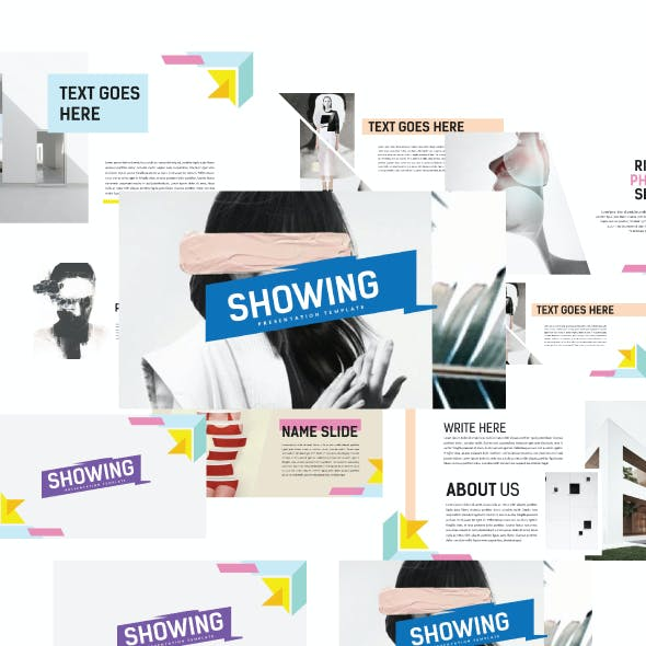 ShowUp - Multipurpose Creative Template PPTX
