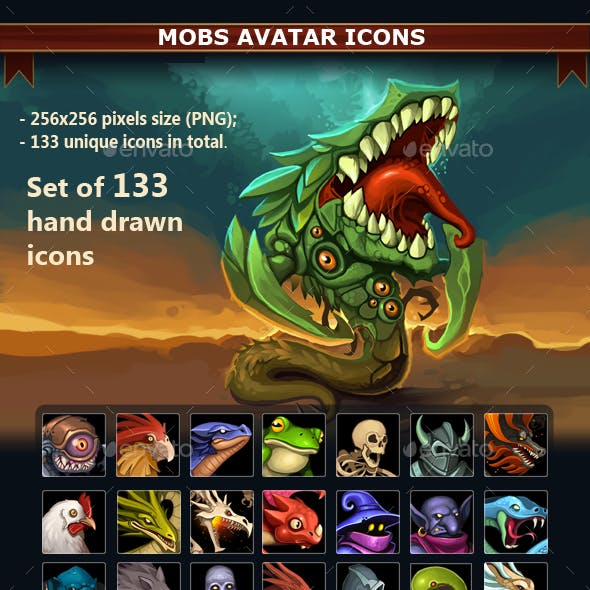 Mobs Avatar Icons