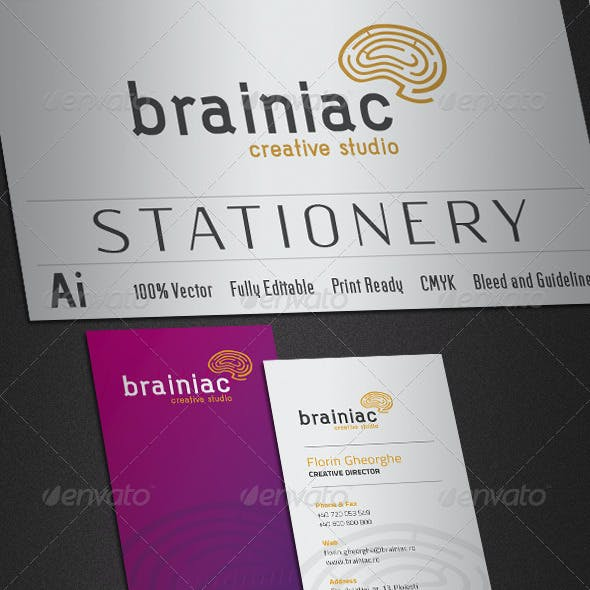 Brainiac Stationery