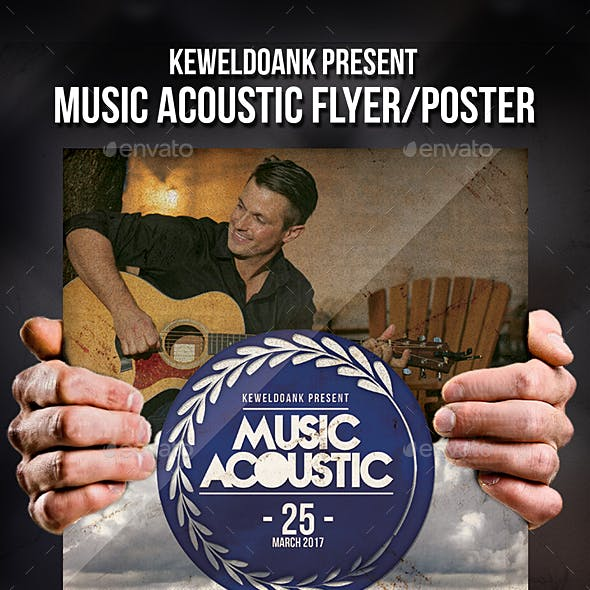 Music Acoustic Flyer / Poster