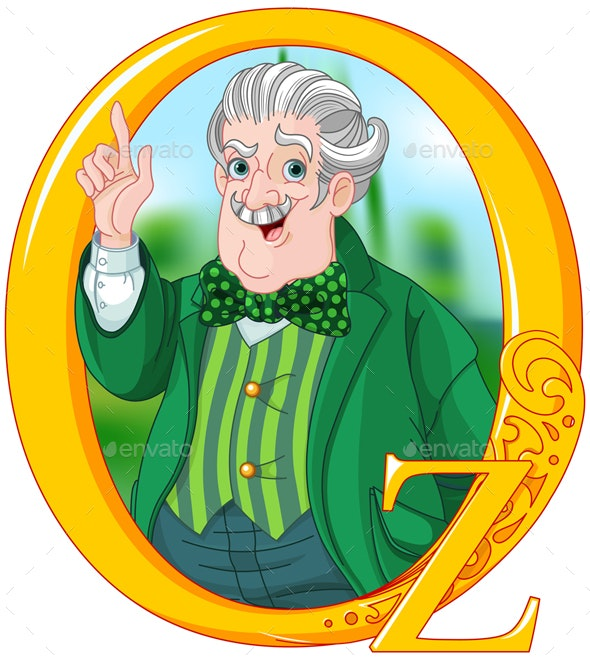 Wizard of Oz - People Characters